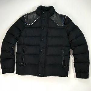 Just Cavalli Black Down Jacket